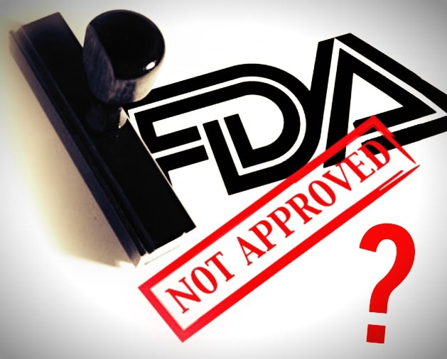 FDA stamp Not Approved
